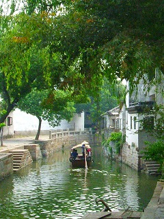 River with boat in TongLi-1.jpg