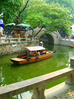 River with boat in TongLi-2.jpg
